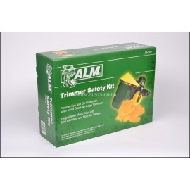 ALM CH012 Trimmer Safety Kit, Face Guard, Ear Defenders & Non Slip Gloves