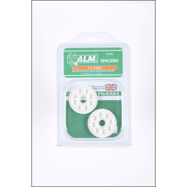 ALM FL063 Flymo Blade Height Spacers x 2