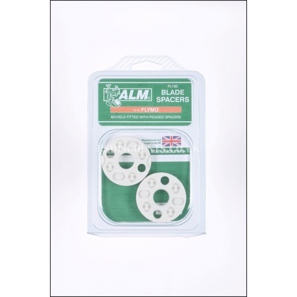 ALM FL182 Blade Spacers Flymo & Qualcast Lawnmowers