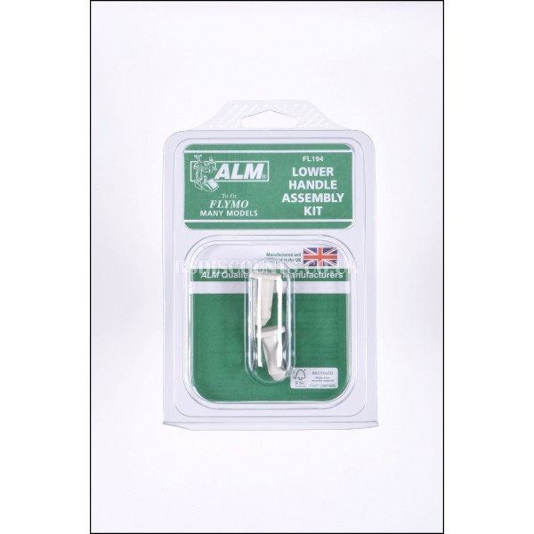 ALM FL194 Handle Pins & Clips For Flymo Lawnmowers