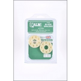 ALM FL244 Flymo Hover Mower Blade Height Spacers (Pack of Two)