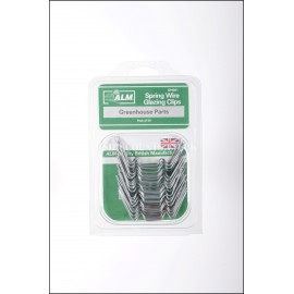 ALM GH001 Spring Wire Green House Glazing W Clips Pack of 50