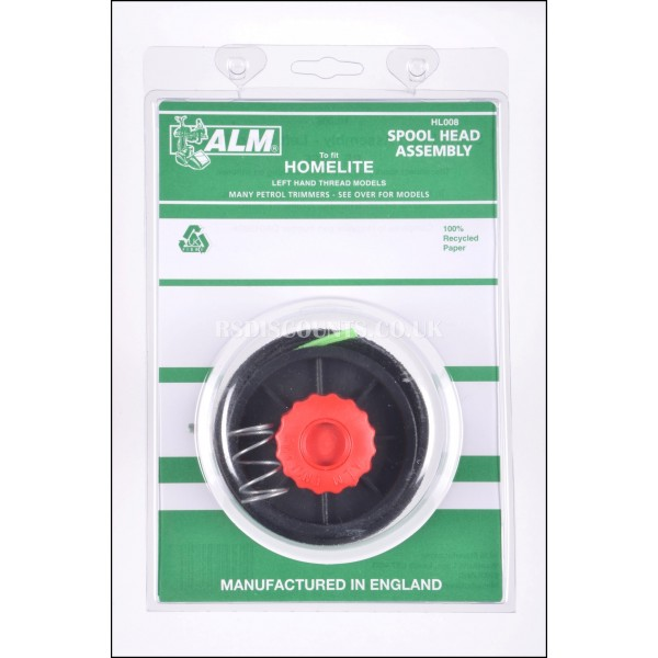 ALM HL008 Spool Head Assembly & Line for Ryobi Trimmers