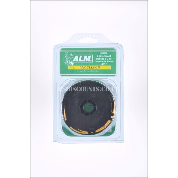 ALM MC102 Trimmer Spool & Line McCulloch