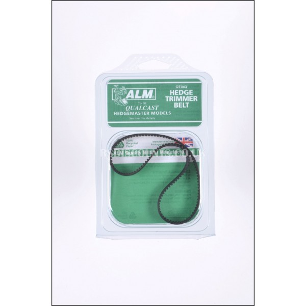 ALM QT043 Drive Belt for Qualcast & Atco Hedgmaster, Hedgecutter Trimmers