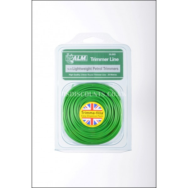 ALM SL003 Light Weight Round Trimmer Line 20m x 2.0mm