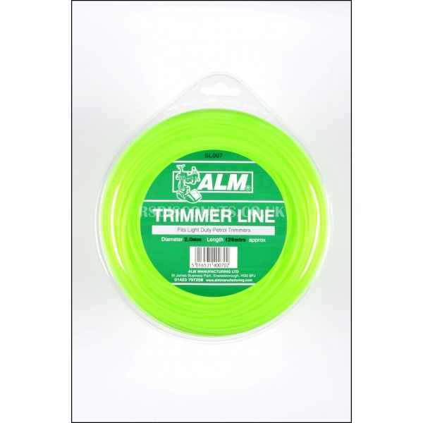 ALM SL007 Light Duty Round Trimmer Line 122m x 2.0mm