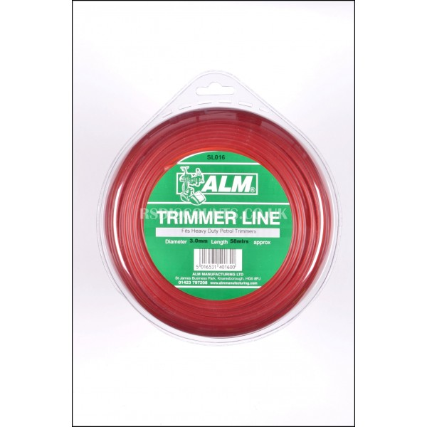 ALM SL016 Heavy Duty Round Trimmer Line 3.0mm x 60m