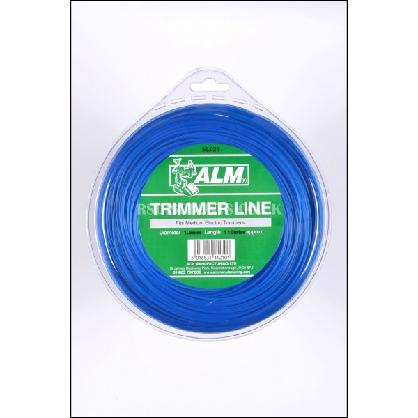 ALM SL021 Medium Duty Round Trimmer Line 1.5mm x 105m