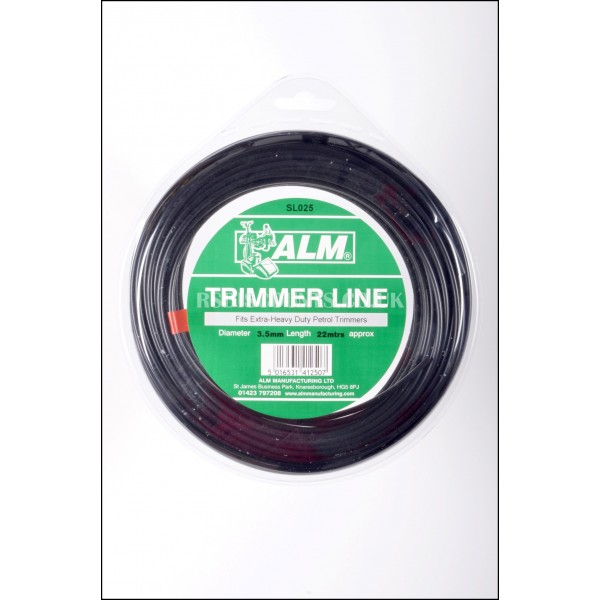 ALM SL025 Extra Heavy Duty Round Trimmer Line 3.5mm x 20m