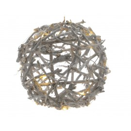 Lumineo 16 Warm White LED Twig Globe