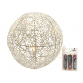 Lumineo 20 Warm White LED Wire Globe