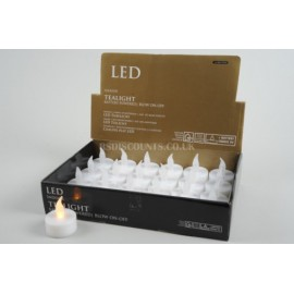 Lumineo Battery Operated LED Tealight Candle