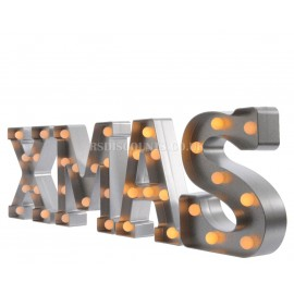 Lumineo Warm White LED Xmas Text