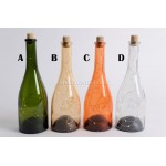 Lumineo 10 LED Warm White 27.5cm Glass Wine Bottle Lamps Choice of 4 Colours