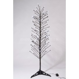 Lumineo Warm White and Multi Coloured 112 LED 1.2m Switching Light Tree Indoor or Outdoor Use
