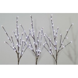 Lumineo 96 Cool White LED Snowy Branch Lights