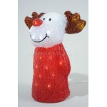 Lumineo 29cm 48 LED Acrylic Reindeer