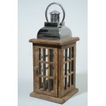 Sheesham Wood Lantern by Decoris