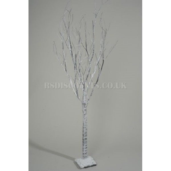 Lumineo 70cm Paper Birch Christmas Tree