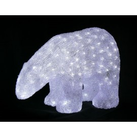 Lumineo 40cm LED Acrylic Polar Bear