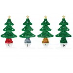 Premier 17cm Tinsel Christmas Tree