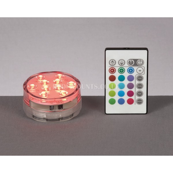 Premier Multi Action Colour Changing LED Uplighter