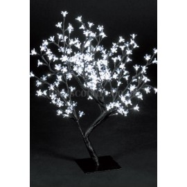 Snow Time 67cm Ice White LED Outdoor Cherry Blossom Tree