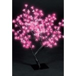 Snow Time 67cm Ice Shocking Pink Outdoor Cherry Blossom Tree