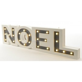 Lumineo Wooden LED Noel Frame
