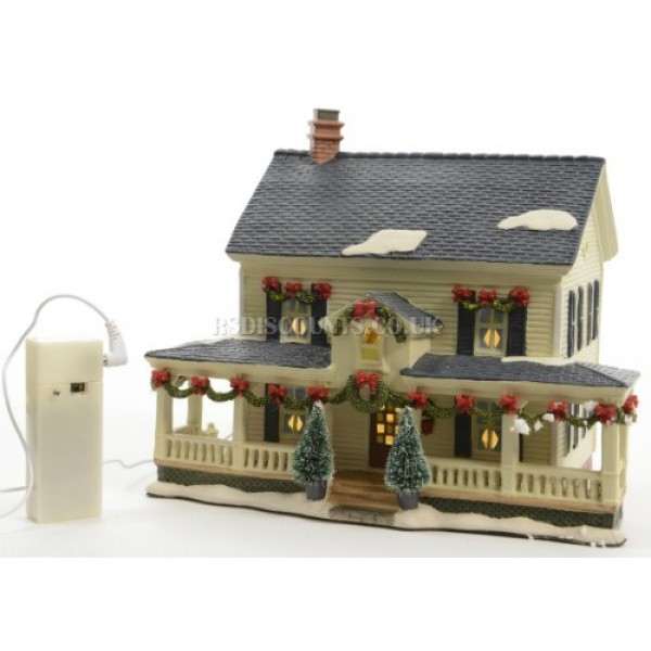 Lumineo LED Lit House With Porch