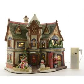 Lumineo LED Lit Santa's Gift Shop