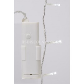 Lumineo Durawise Cool White 96 LED 7.1m Twinkle Lights Transparent Cable Indoor or Outdoor Use