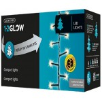 Lumineo 1-2 Glow 8 Function Multi Coloured LED Compact Twinkle Lights