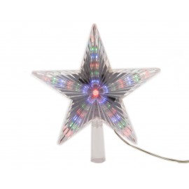 Lumineo Tree Top Star with Multi Coloured LED's