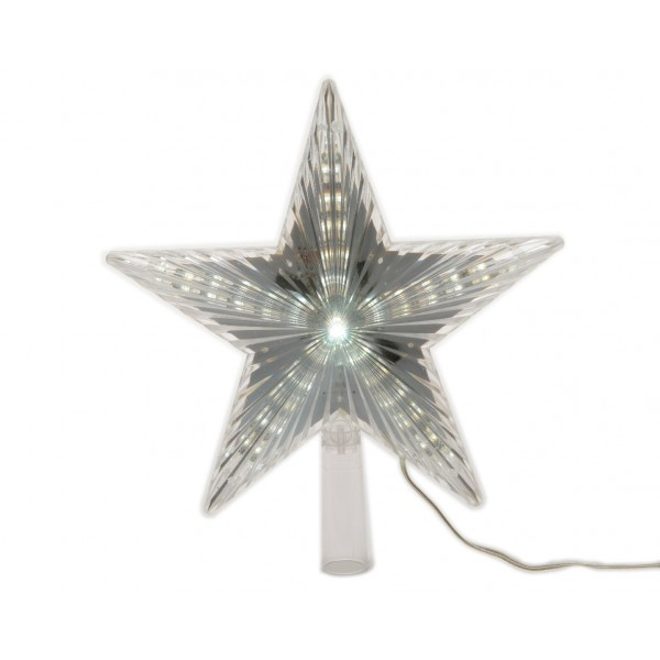 Lumineo Tree Top Star with Cool White LED's