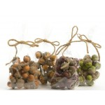 Lumineo Natural  Decorations Dried Acorns Available in Different Colours