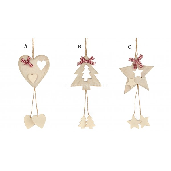 Premier Hanging Ornament 28cm