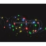 Premier 5m 50 Multi Coloured LED Pin Wire Lights