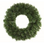 Premier 50cm Plain Green Christmas Wreath