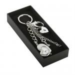 Padlock & Key Bag Charm Keyring & Watch
