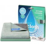 E-Cloth Chemical Free  Kitchen Twin Pack Kitchen, Glass & Polishing Cloths