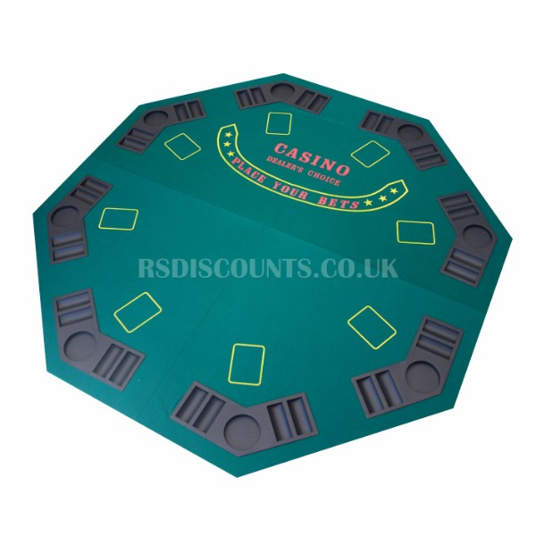 Folding Casino Table Top for up to 8 Players - NY1267