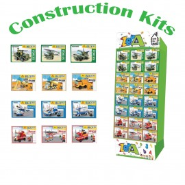 Build My World - Construction Vehicle Building Kits Choice of 3 Vehicles