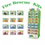 Build My World - Fire Vehicle Building Kits Choice of 3 Vehicles