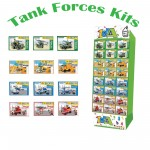 Build My World - Tank Forces Army Vehicle Building Kits Choice of 3 Vehicles