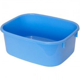 LUCY LARGE Cornflower Blue Rectangular Washing Up Bowl