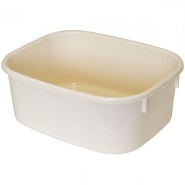 LUCY LARGE White Rectangular Washing Up Bowl