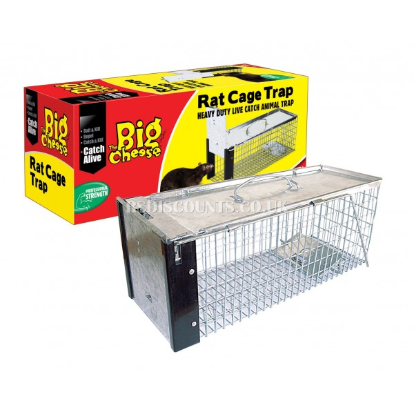 STV075 STV Rat Cage Trap The Big Cheese