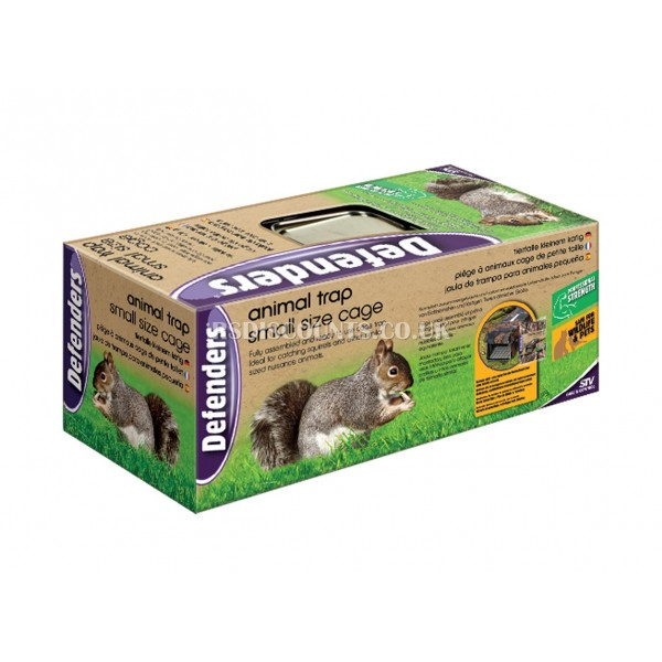 STV076 STV Animal Trap - Small Size Cage DEFENDERS